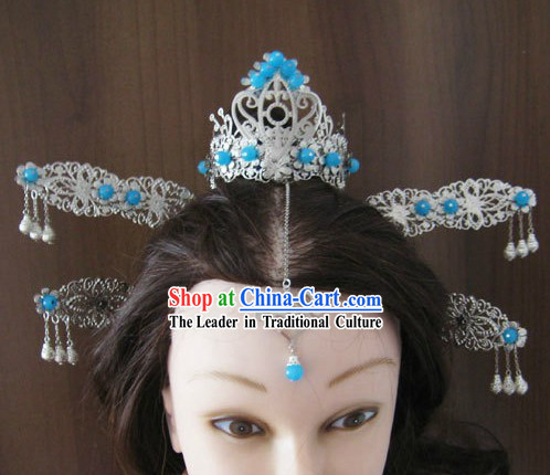 Ancient Chinese Handmade Princess Hair Accessories Set for Women