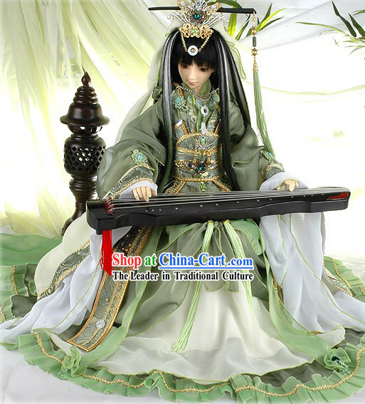 Chinese Ancient Emperor Costumes Complete Set