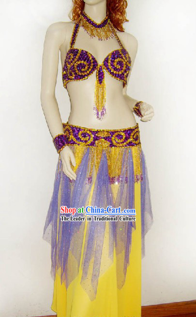 Top Handmade Belly Dance Costumes Complete Set