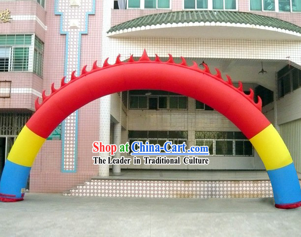 Large Chinese Inflatable Flame Arches