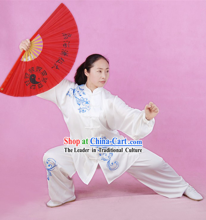 Chinese Tai Chi Competition Champion Silk Suit