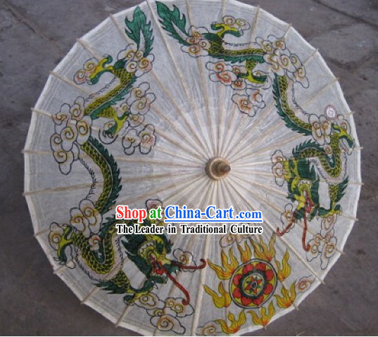Chinese Hand Made Waterproof Rain Sun Decoration Umbrella