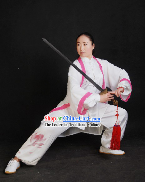 Chinese Silk Tai Chi Sword Suit and Cape Set