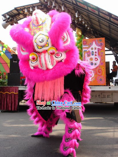 Lucky Business Promotion Lion Dance Costumes Complete Set