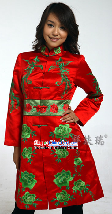 Rui Fu Xiang Embroidered Suit for Women
