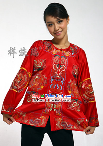 Rui Fu Xiang Silk Traditional Chinese Clothing for Women