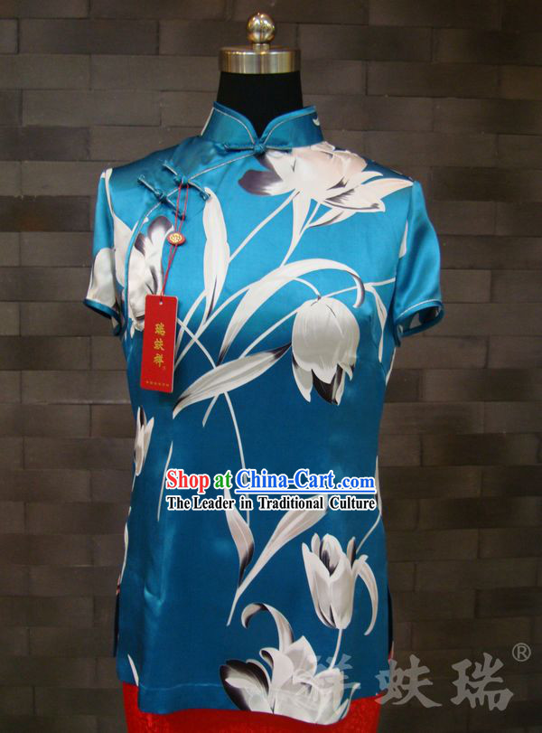 Beijing Rui Fu Xiang Silk Dress for Women