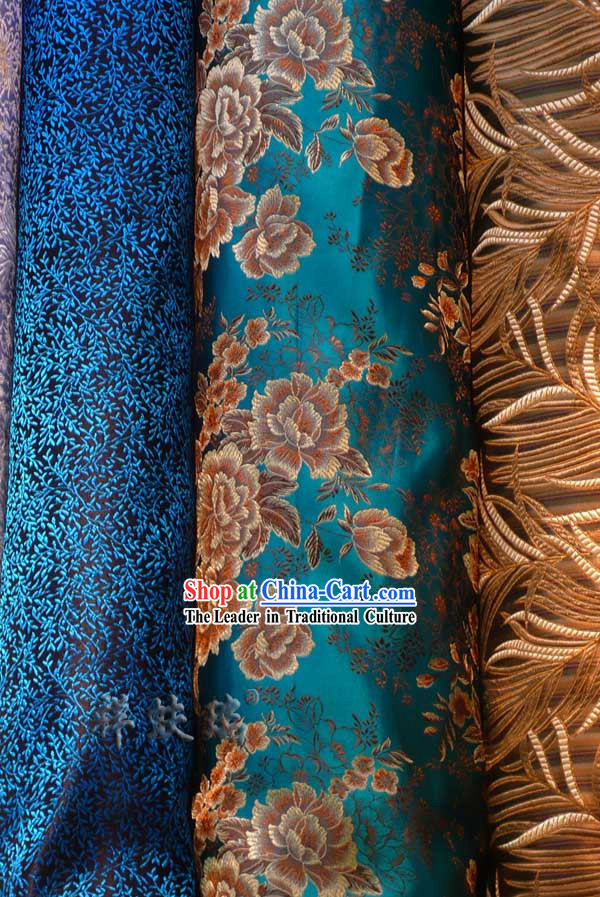 Traditional Chinese Beijing Rui Fu Xiang Silk Fabric