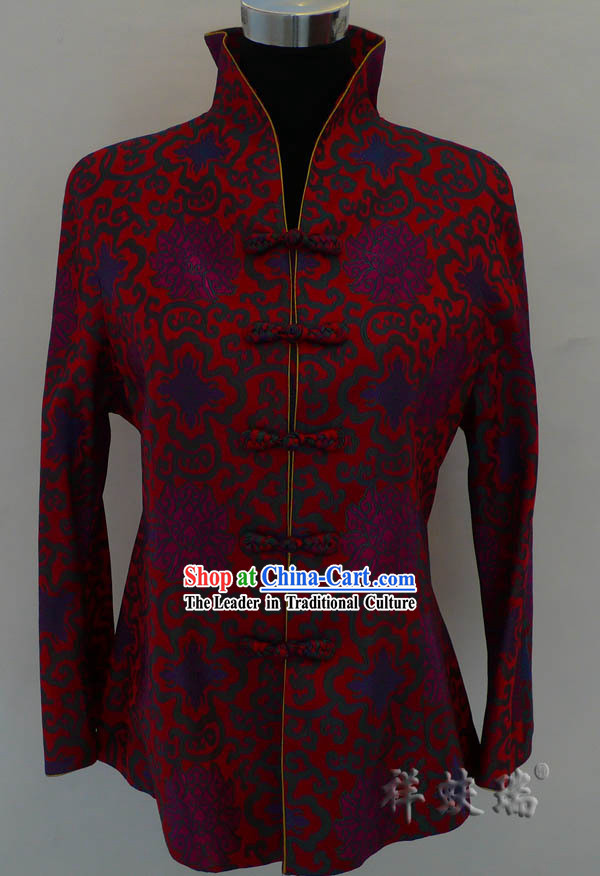 Beijing Rui Fu Xiang Silk Tang Suit for Women
