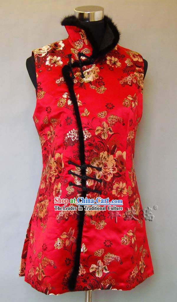 Beijing Rui Fu Xiang New Year and Wedding Mandarin Dress for Women