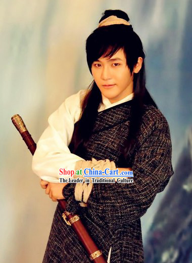 Return of the Condor Heroes Yang Guo Costumes Complete Set