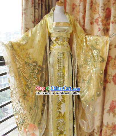 Ancient Chinese Palace Empress Costumes Complete Set