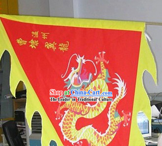 Traditional Chinese Dragon Flag