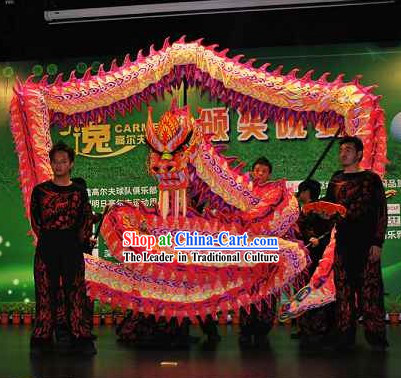 Stunning Luminous Traditional Dragon Dancing Costumes Complete Set