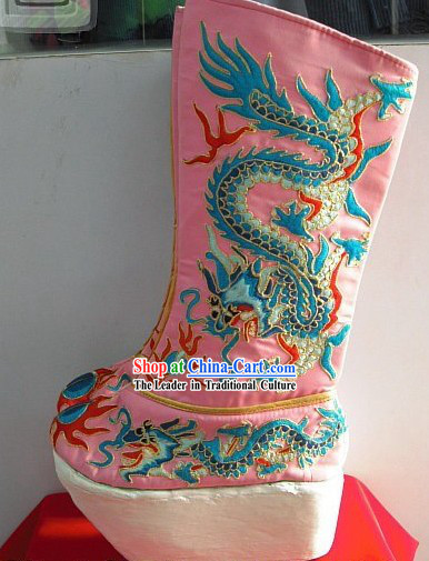 Chinese Opera Dragon Boots for Men