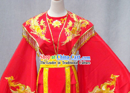 Chinese Classical Wedding Dress Complete Set for Women