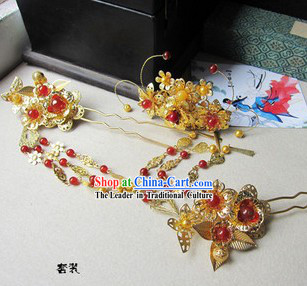 Ancient Chinese Beauty Headpiece Set