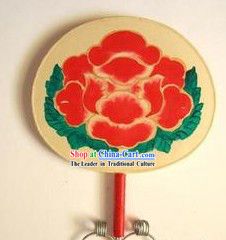 Hand Held Flower Drum and Drumsticks Set