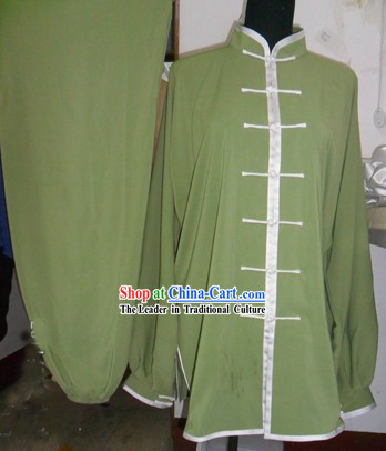 Traditional Chinese Kung Fu Blouse and Pants Set