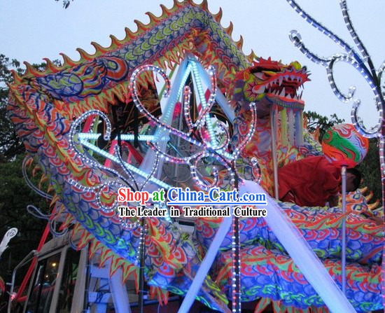 Luminous Competition and Performance Dragon Dance Costumes Complete Set