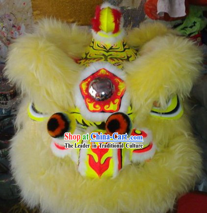 Kids Size Luminous Lion Dance Costumes Complete Set
