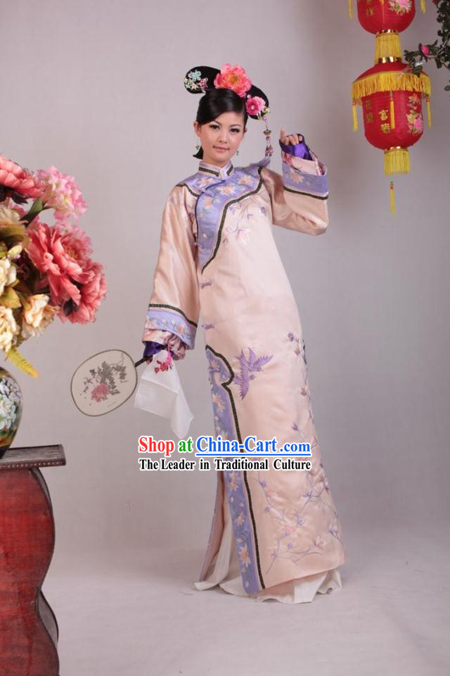 Qing Dynasty Palace Maid Costumes