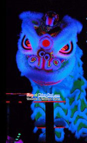 Top Competition and Parade Luminous Lion Dance Equipment Complete Set