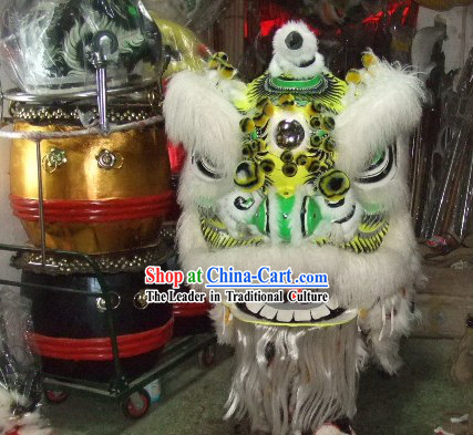 Supreme Competition Lion Dance Costumes Complete Set