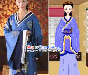 Ancient Chinese Palace Lady Costume Complete Set