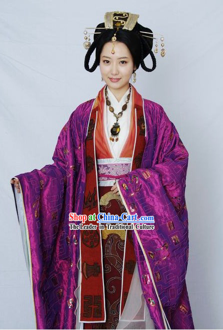 Ancient Chinese Princess Costumes Complete Set for Women