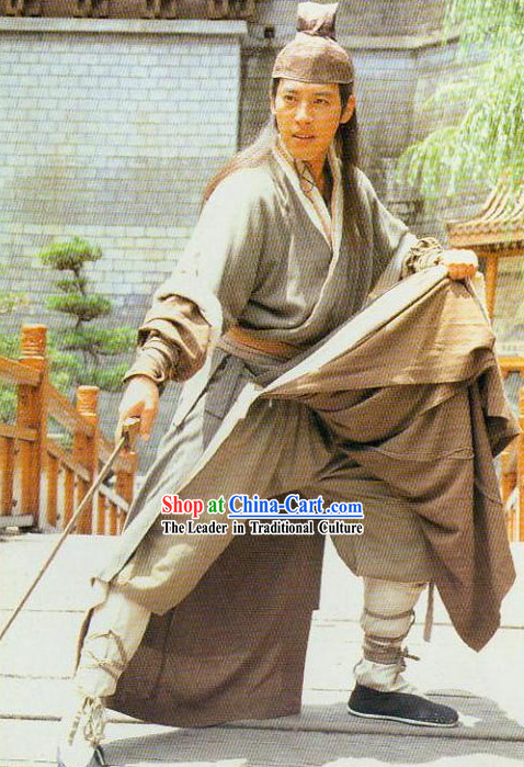 Chinese Film Character Ling Huchong Costume for Men
