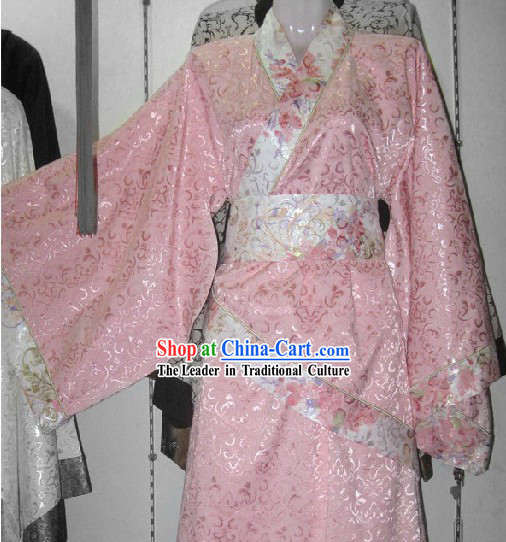 Han Dynasty Princess Costumes Clothing Complete Set