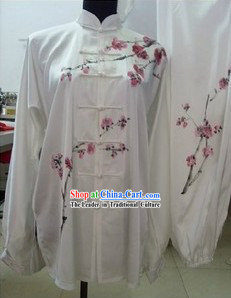 White Plum Blossom Kung Fu Competition Clothing