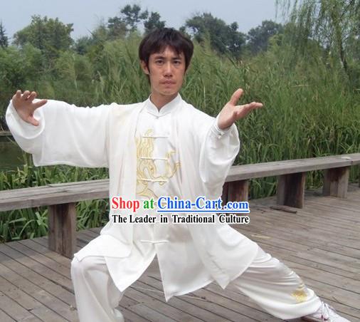Professional Tai Chi Men Suit _ Wushu Costumes