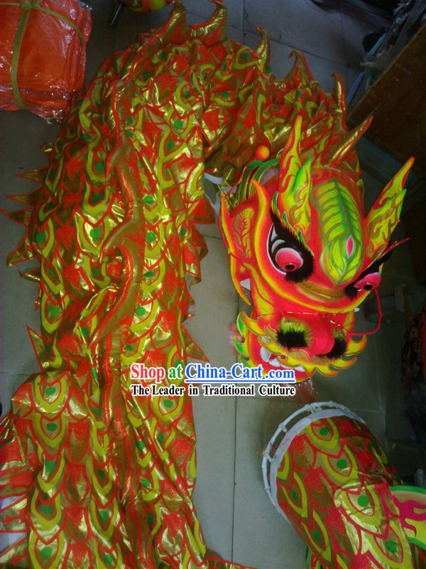 Grand Business Opening Yeguang Dragon Dancing Costume Complete Set
