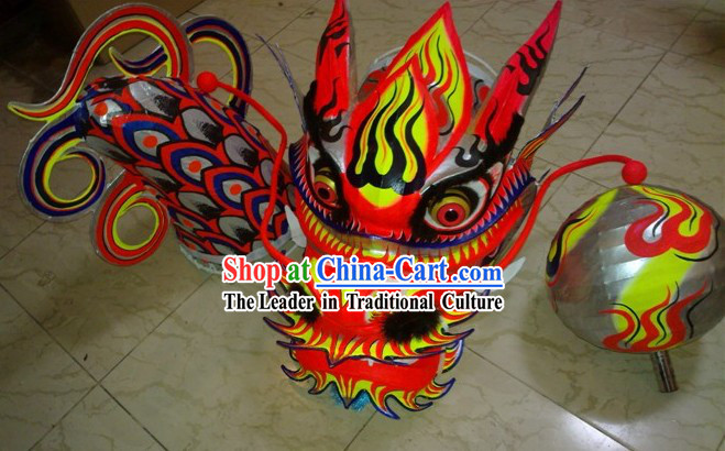 Top Professional International Competition Luminous Dragon Dance Costume Complete Set