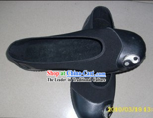 Traditional Chinese Black Taoist Tai Chi Cloud Shoes