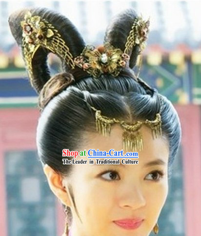 Ancient Chinese Princess Hair Accessories Set for Ladies