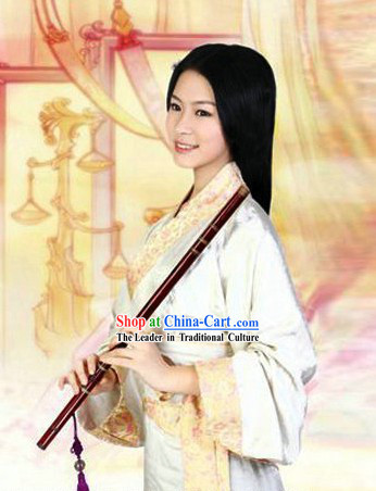 Ancient Chinese Han Fu Clothing Complete Set for Women