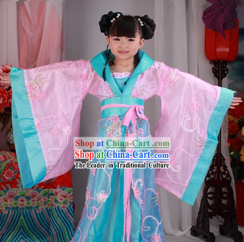 Ancient Chinese Han Dynasty Clothing for Kids