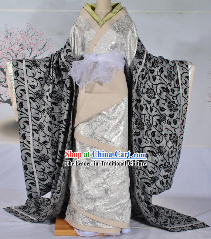 Ancient Chinese Palace Empress Clothing Complete Set for Women