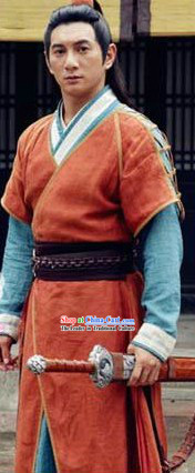 Ancient Chinese Swordsman Costumes for Men
