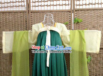 Ancient Chinese Tang Dynasty Ruqun Outfit Complete Set