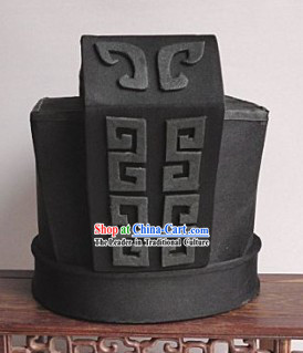 Ancient Chinese Qin Dynasty Male Official Hat