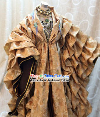 Ancient Chinese Emperor Wedding Cosplay Costumes Complete Set for Men