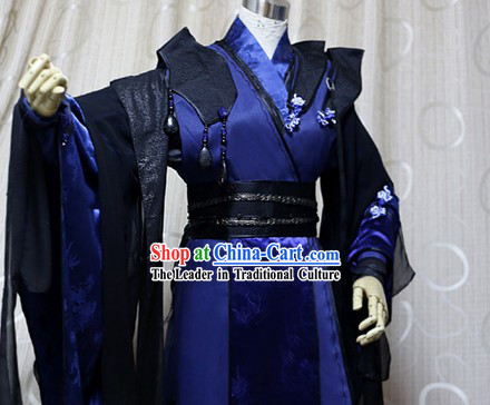 Ancient Chinese Imperial Prince Cosplay Costumes Complete Set for Men