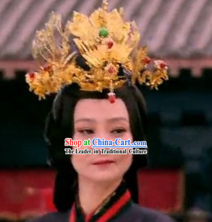 Ancient Chinese Imperial Palace Royal Empress Phoenix Hair Accessories Complete Set