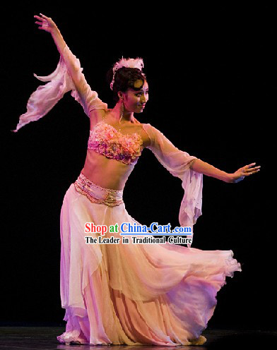 Classical Dancing Solo Dance Costume Complete Set for Women