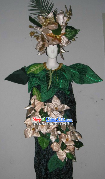 Forest Cosplay Stage Performance Dance Costumes Complete Set