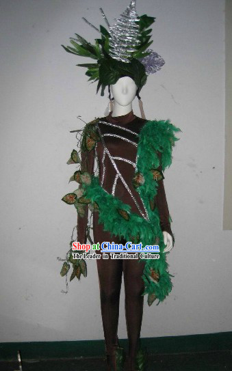 Forest Prince Model Costumes and Headdress Complete Set